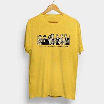 Camiseta algodón Like a criminal