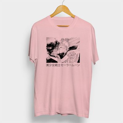 Camiseta algodón Tuxedo & Sailor Moon