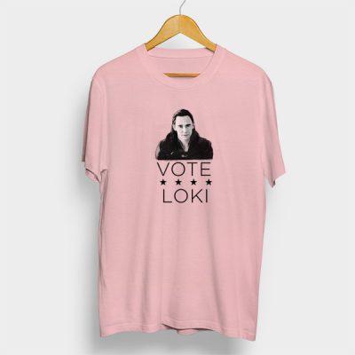 Camiseta algodón Vote loki