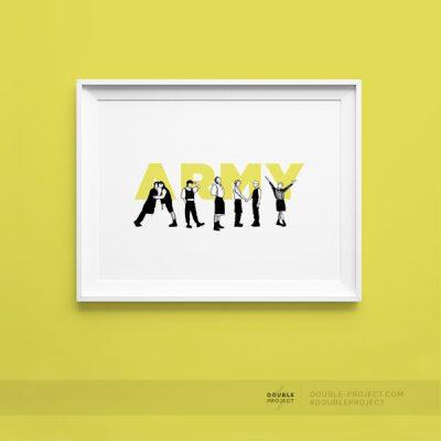 Lámina Army
