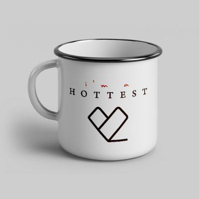 Taza vintage cerámica Hottest