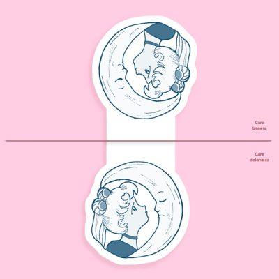 Marcapáginas Magnético Sailor & Moon