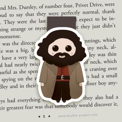 Marcapáginas Magnético Hagrid