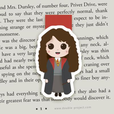 Marcapáginas Magnético Hermione Granger