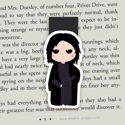 Marcapáginas Magnético Severus Snape