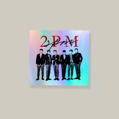 Pegatina holográfica 2PM