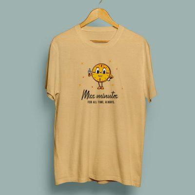Camiseta algodón Miss Minutes