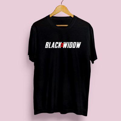 Camiseta algodón Black Widow