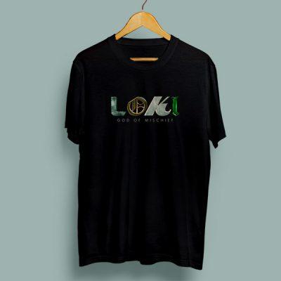 Camiseta algodón God of Mischief