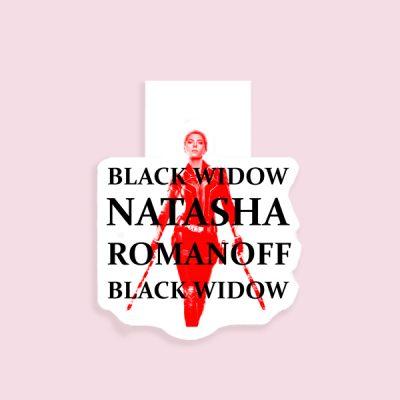 Marcapáginas Magnético Natasha Romanoff