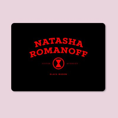 Alfombrilla ratón Natasha Romanoff