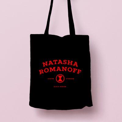 Tote bag de Algodón Natasha Romanoff