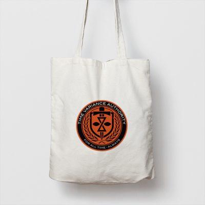 Tote bag de Algodón Time Variance Authority