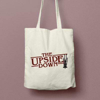 Tote bag de Algodón The Upside Down