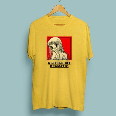 Camiseta algodón a little bit dramatic