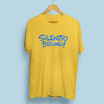 Camiseta algodón Silenzio Bruno!