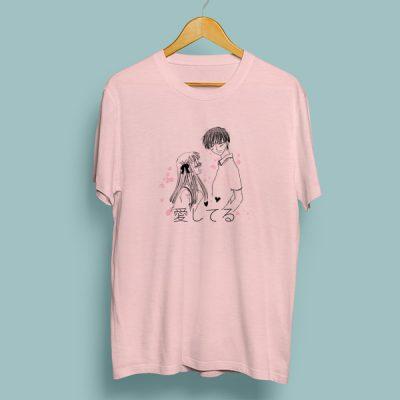 Camiseta algodón Aishiteru