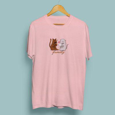 Camiseta algodón family