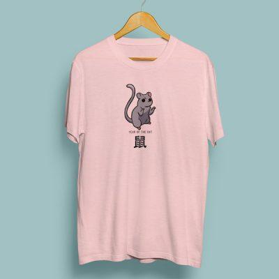 Camiseta algodón year of the rat