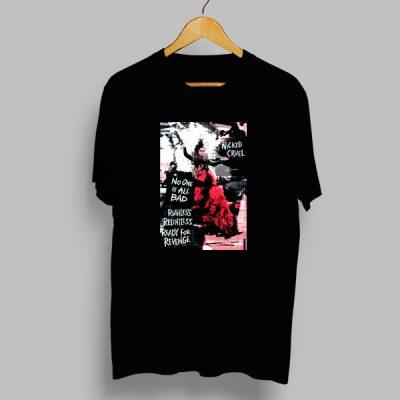Camiseta algodón Wicked cruel
