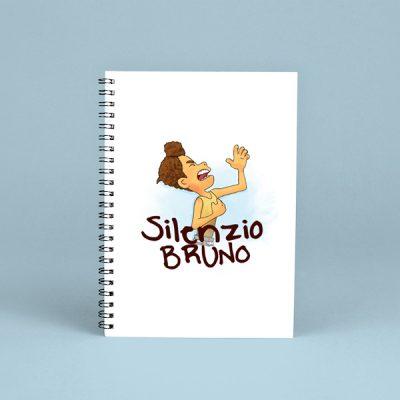 Libreta espiral Silenzio Bruno