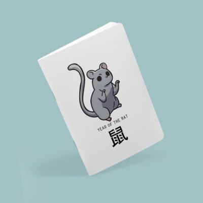 Libreta grapada Year of the rat