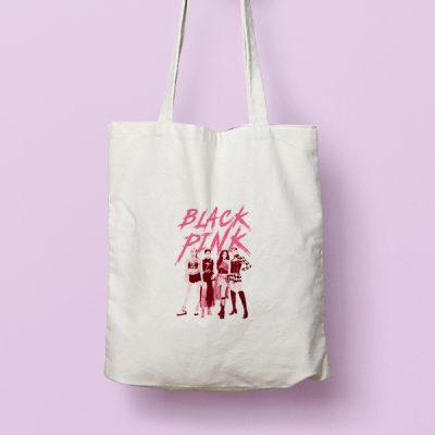 Tote bag de Algodón Blackpink