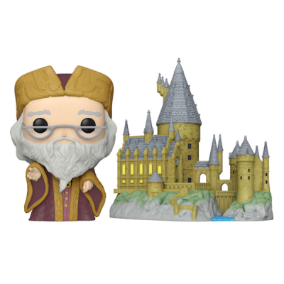 Harry Potter Anniversary Funko POP Town Dumbledore with Hogwarts