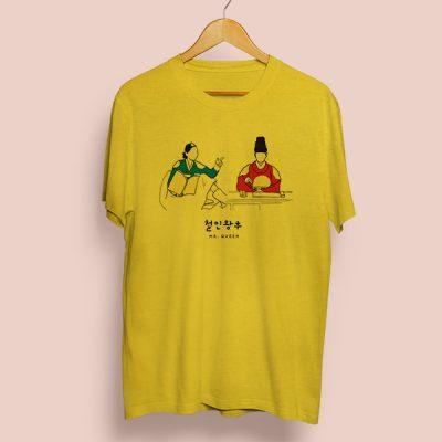 Camiseta algodón Mr Queen