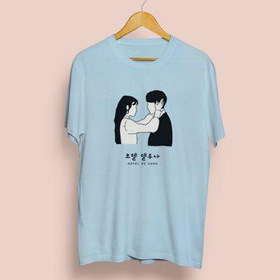Camiseta algodón Hotel de Luna