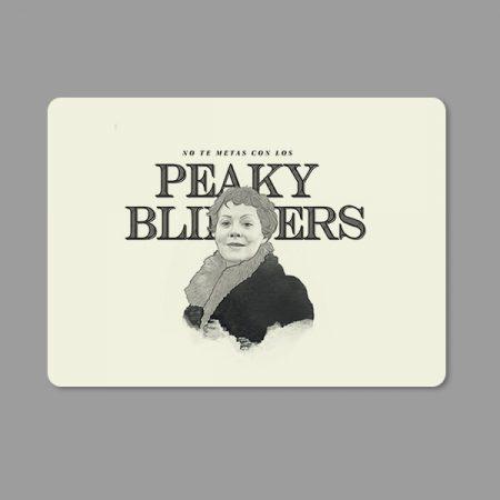 Alfombrilla ratón no te metas con los Peaky Blinders