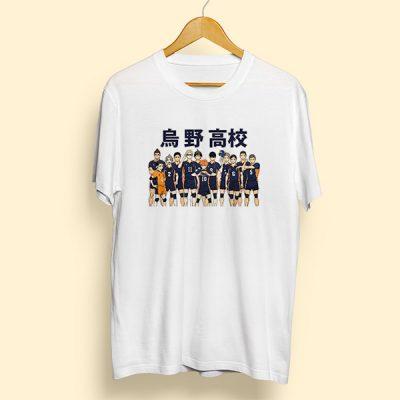 Camiseta Preparatoria Karasuno