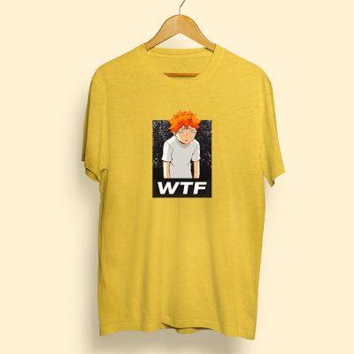 Camiseta algodón wtf