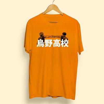 Camiseta algodón Karasuno