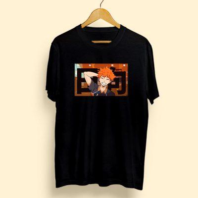 Camiseta algodón hinata shoyo