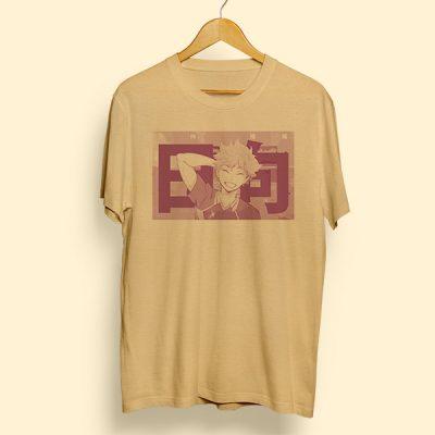 Camiseta algodón Hanamichi