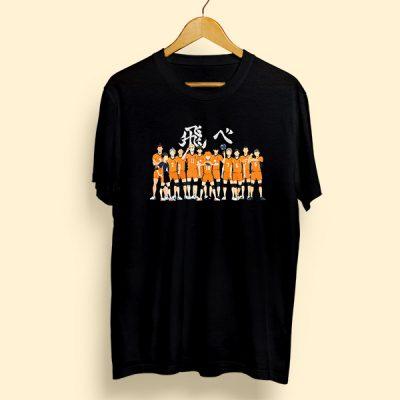 Camiseta algodón Preparatoria Karasuno