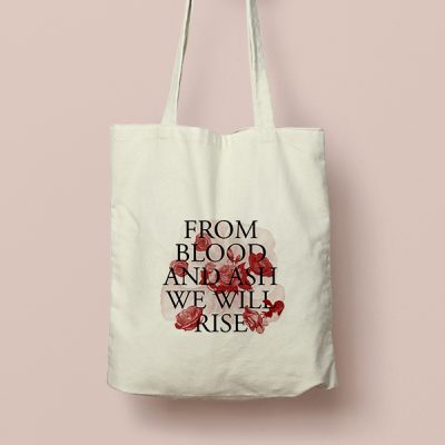 Tote bag de Algodón From Blood and Ash