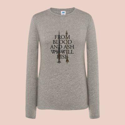 Camiseta algodón manga larga From Blood and ash