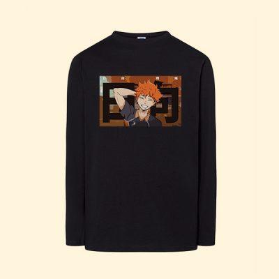Camiseta algodón manga larga Shōyō Hinata