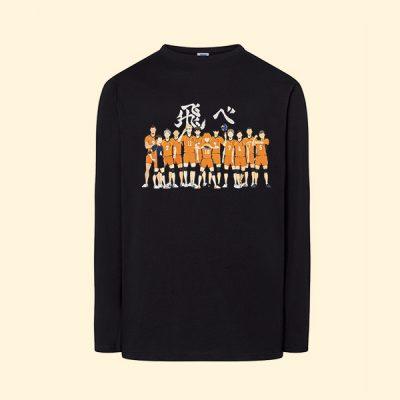 Camiseta algodón manga larga Preparatoria Karasuno