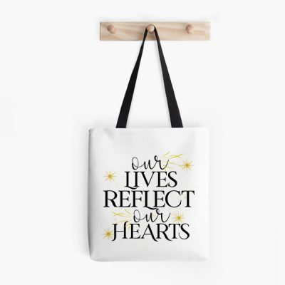 Bolsa Our lives reflect our hearts
