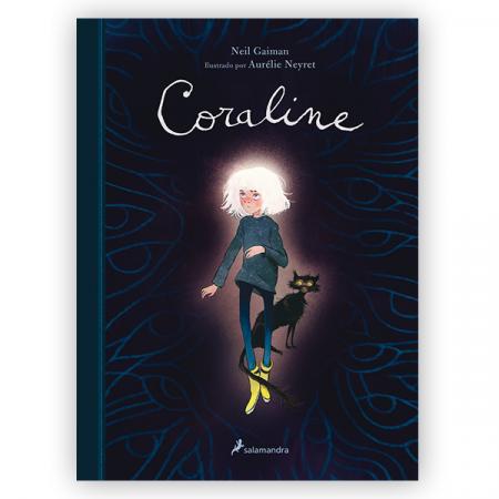 Novela Coraline Edición ilustrada